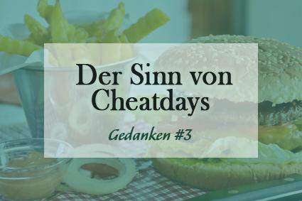 Wie sinnvoll sind Cheatdays?