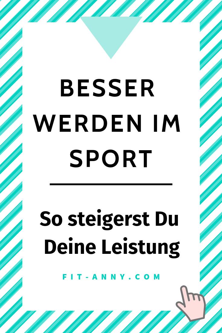 Sport Leistung verbessern