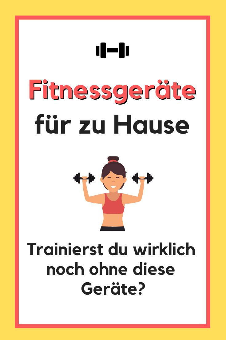 Fitnessgeräte für zu Hause – Equipment für Home Workouts