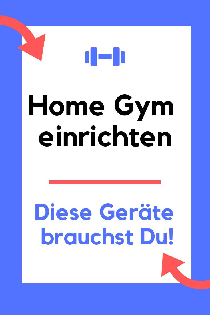 Fitnessgeräte für zu Hause - Home Gym einrichten - Sportgeräte für zu Hause